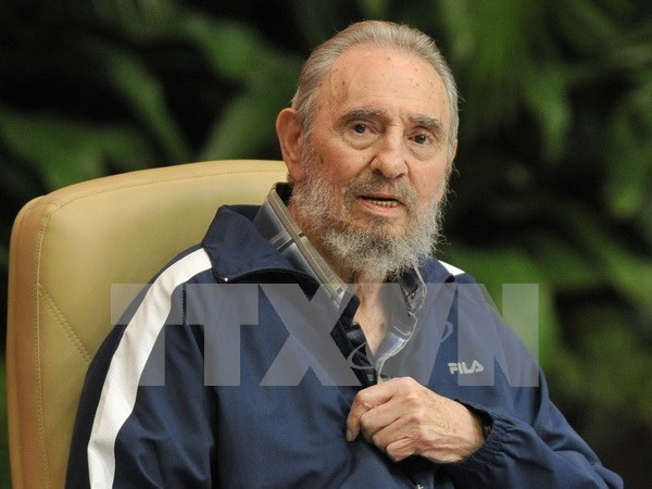 Vietnamese pay last respects to Fidel Castro hinh anh 1
