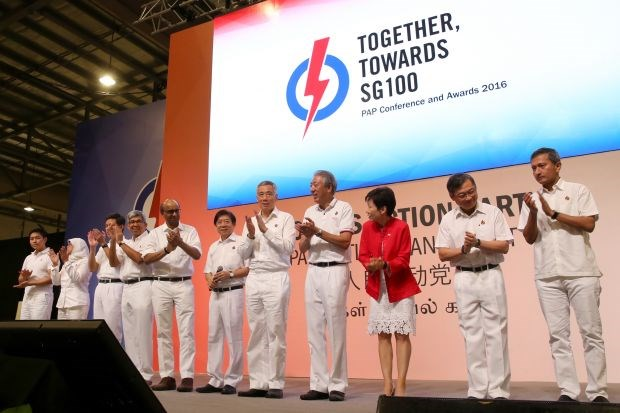 Singapore: Ruling party elects new executive board hinh anh 1