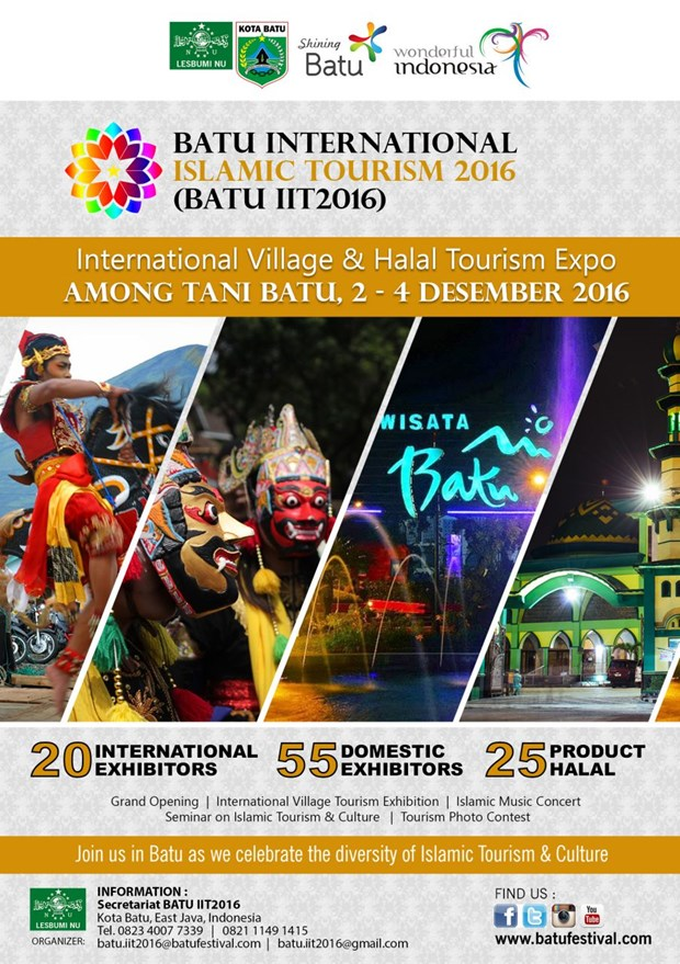 Indonesia hosts international Islamic tourism festival hinh anh 1