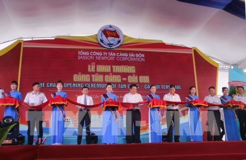 Tan Cang – Cai Cui port launched in Can Tho hinh anh 1