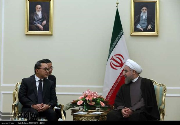 Iran eyes improved cooperation with Indonesia hinh anh 1