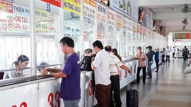 Transport firms add routes before Tet hinh anh 1