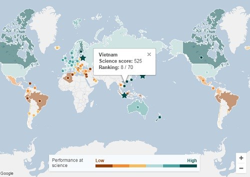 Vietnamese students score high at PISA tests hinh anh 1