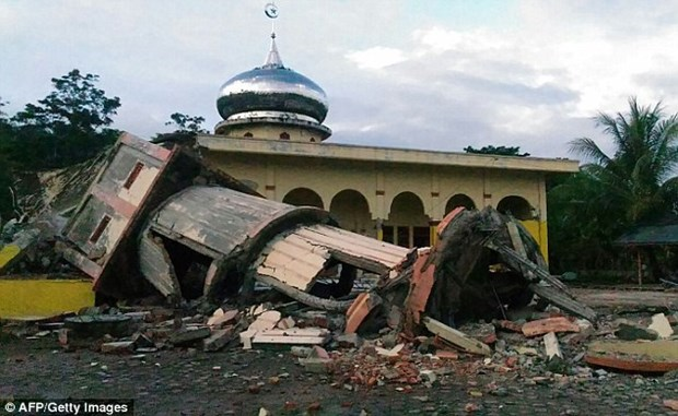 Indonesia earthquake: Initial casualty report 20 deaths hinh anh 1