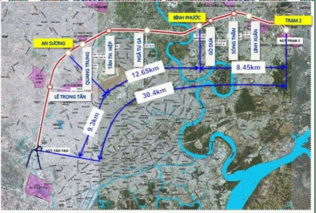 HCM City to build 30km elevated road in 2017 hinh anh 1
