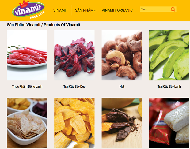 Vinamit products earn USDA, Ecocert organic certificates hinh anh 1