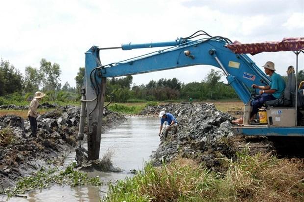Mekong delta prepares for dry season hinh anh 1