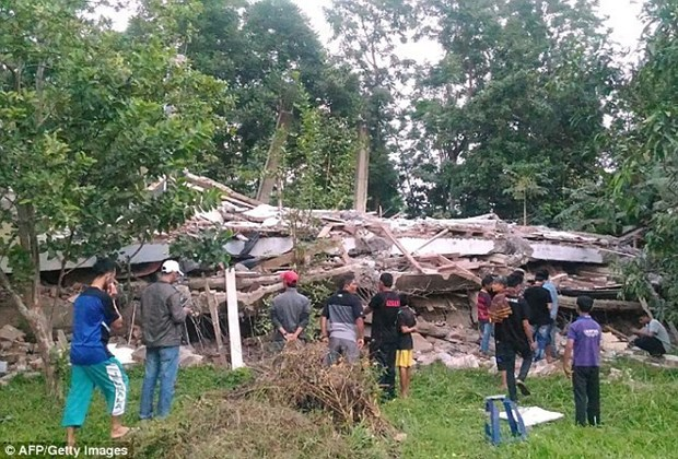 No Vietnamese killed, injured in Indonesia earthquake hinh anh 1