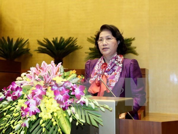NA Chairwoman flies to India for official visit hinh anh 1