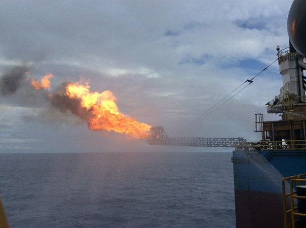 First gas flow from Thien Ung field pumped hinh anh 1