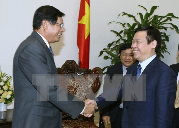 Vietnamese Government supports cooperation with Lao institute hinh anh 1
