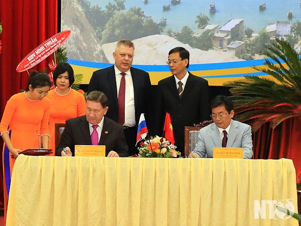 Ninh Thuan, Russia's Kursk province boost cooperation hinh anh 1