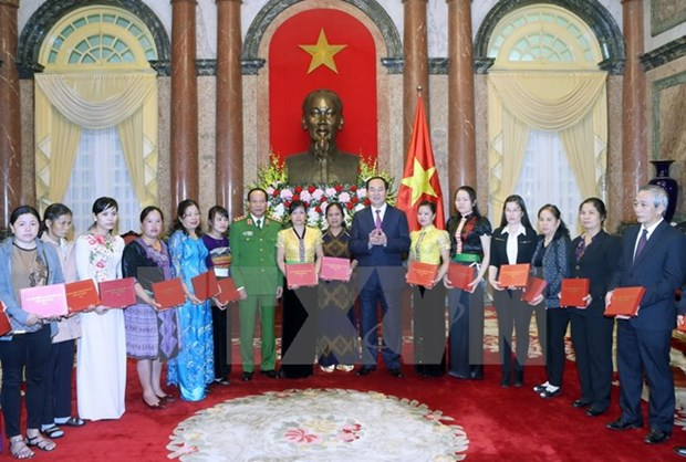 President lauds role models in anti-drug fight hinh anh 1