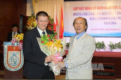 Poland's Independence Day celebrated in HCM City hinh anh 1