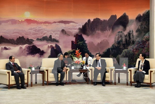 China looks to bolster partnership with Vietnam hinh anh 1