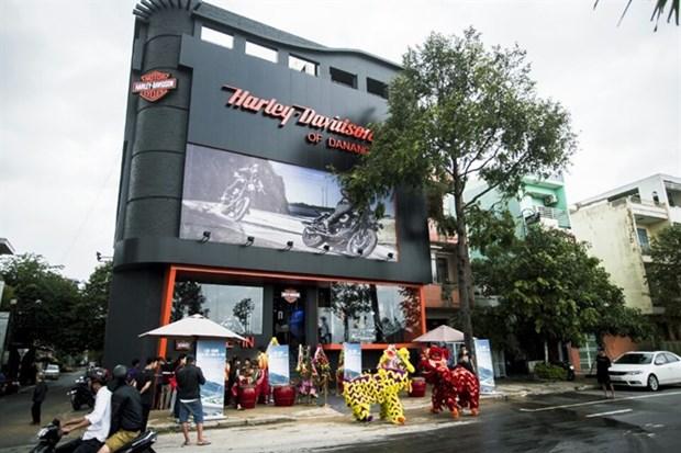 Harley-Davidson opens Da Nang showroom hinh anh 1