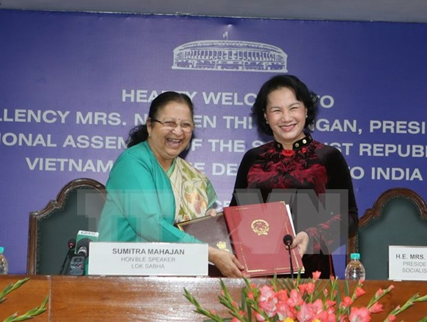 Vietnam, India agree to tighten parliamentary connections hinh anh 1