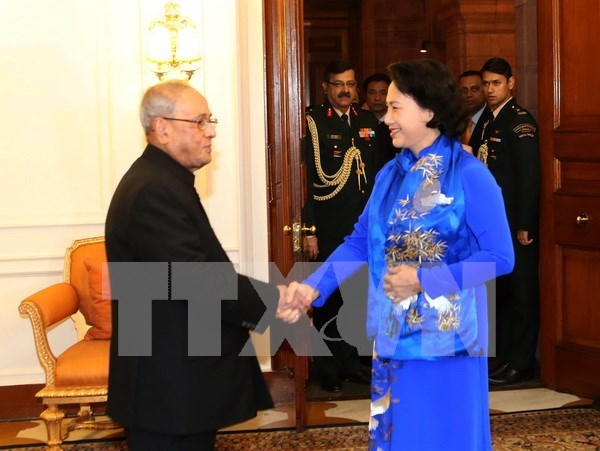 Vietnam backs India's Act East Policy: NA Chairwoman hinh anh 1