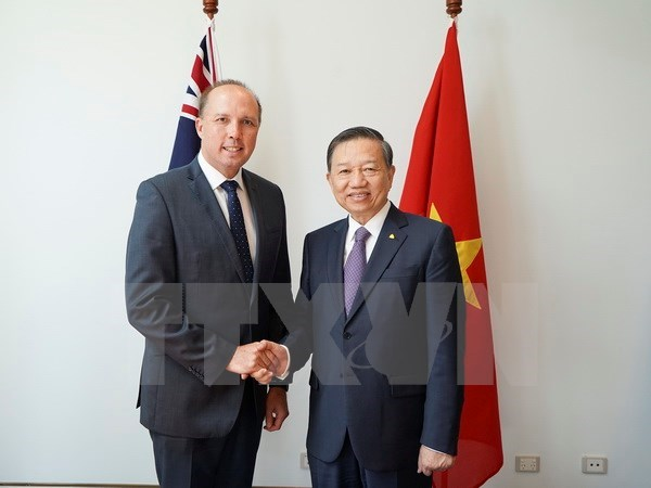 Public security ministry wants increased ties with Australia hinh anh 1