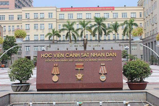 People's Police Academy inaugurates e-library hinh anh 1