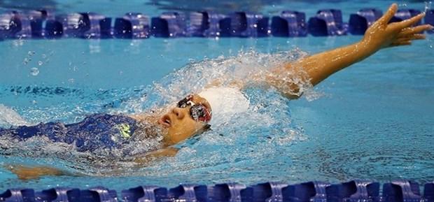 Vietnam tops at Southeast Asian Swimming championship hinh anh 1