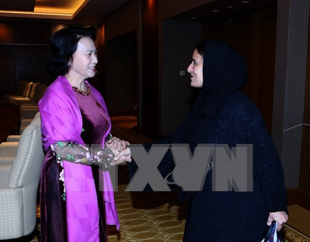 Vietnam treasures relations with UAE: NA Chairwoman hinh anh 1