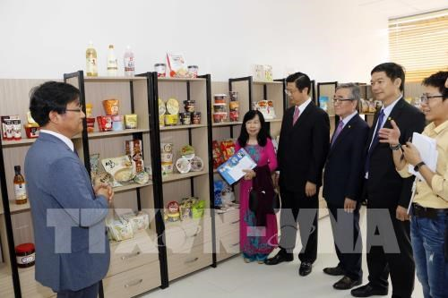 Korea Rice Foodstuffs Association opens office in Can Tho hinh anh 1