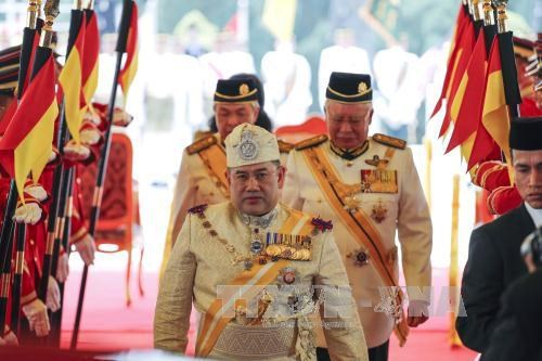 Sultan Muhammad V becomes Malaysia's new king hinh anh 1