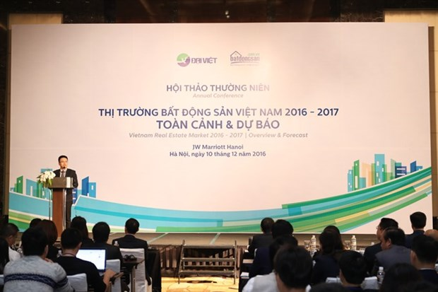 Realty market poised for strong growth next year hinh anh 1