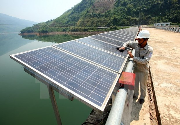 Quang Binh solar power project makes adjustments hinh anh 1
