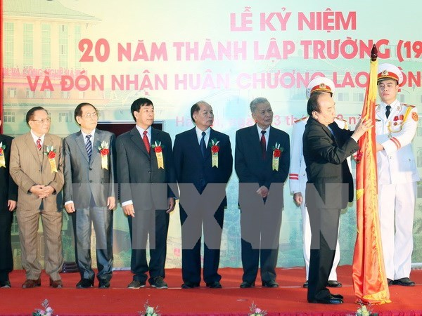 HUBT asked to become typical non-public tertiary institution hinh anh 1