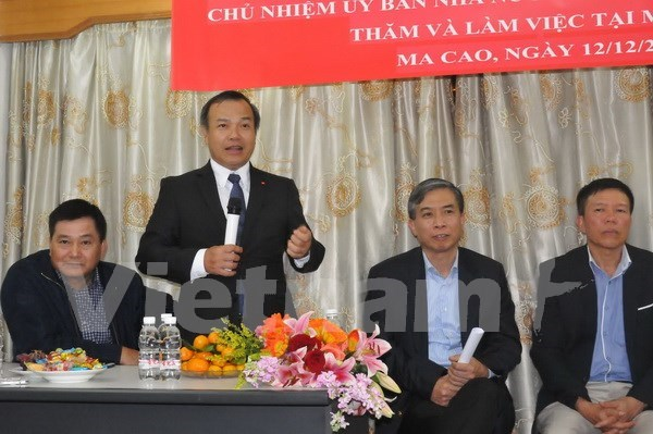 Diplomat affirms State care for Vietnamese in Macau hinh anh 1