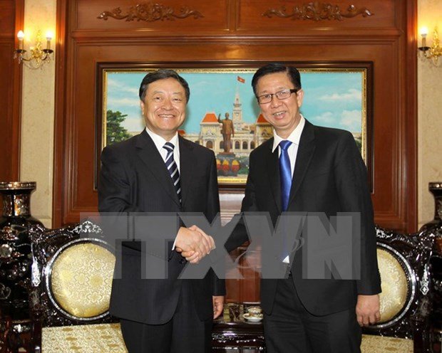 HCM City expects further investment from China's Dalian city hinh anh 1