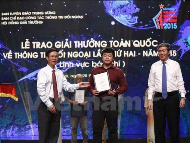 VNA designated to be main external media agency hinh anh 1