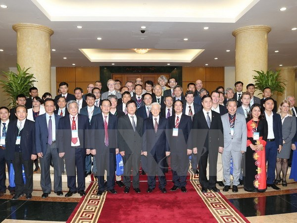 Party chief appreciates scientists' development recommendations hinh anh 1