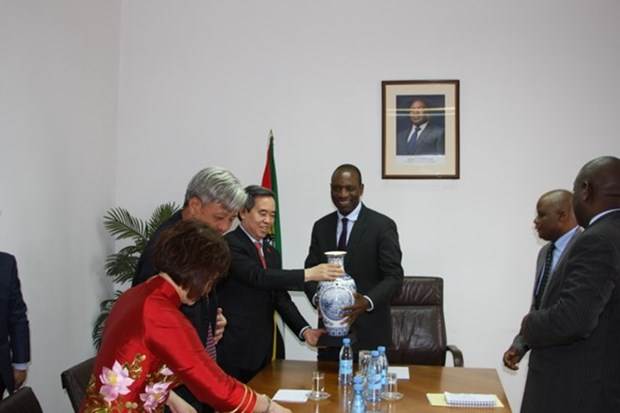 Party economic official visits Mozambique hinh anh 1