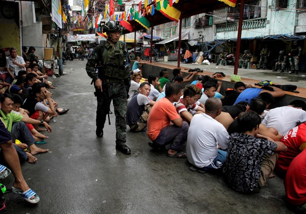 US withholds aid package to Philippines hinh anh 1