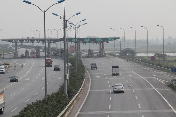 Trial starts on one expressway toll station hinh anh 1