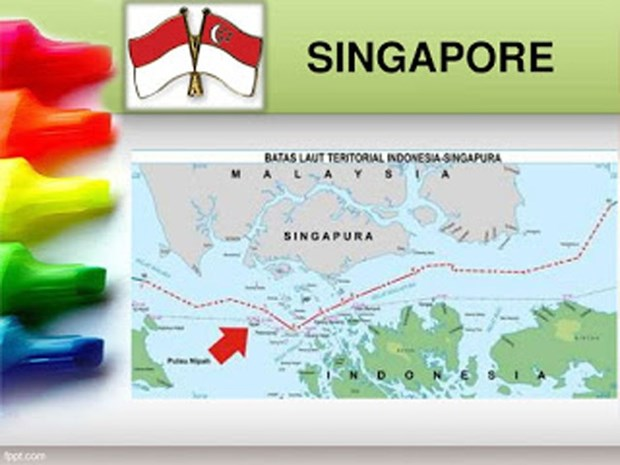 Indonesia parliament ratifies sea border agreement with Singapore hinh anh 1