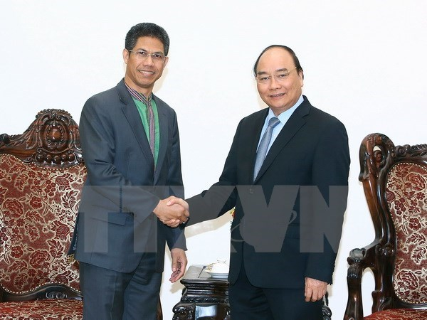 PM congratulates Timor Leste Ambassador on fulfilling tasks hinh anh 1