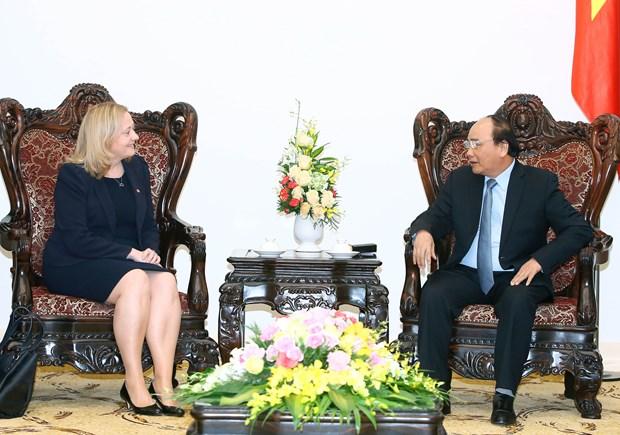Ireland pledges to push Vietnam-EU free trade deal hinh anh 1