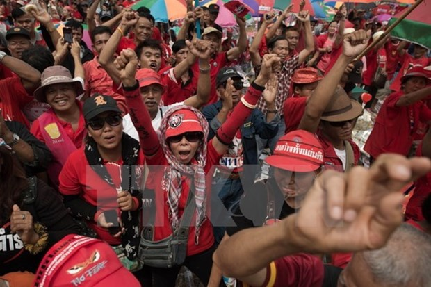 Thailand: 19 red-shirt leaders arraigned hinh anh 1