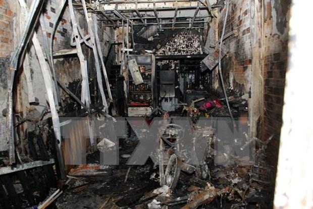HCM City: blaze kills six, injures five hinh anh 1