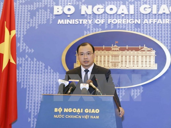 Vietnam opposes all sovereignty violations: Spokesman hinh anh 1