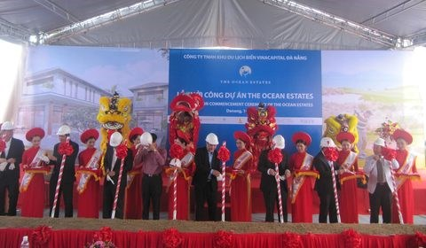 VinaCapital launches Da Nang beach project hinh anh 1