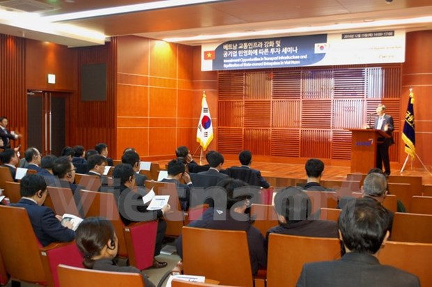 Transport infrastructure attracts Korean businesses hinh anh 1
