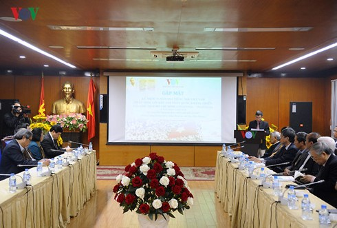 VOV marks 70 years of broadcasting appeal for national resistance day hinh anh 1