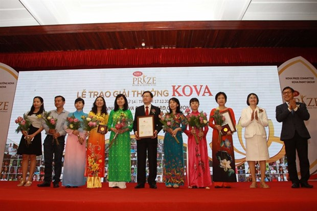 Blood freezing technique, milk with high protein win KOVA Prize hinh anh 1