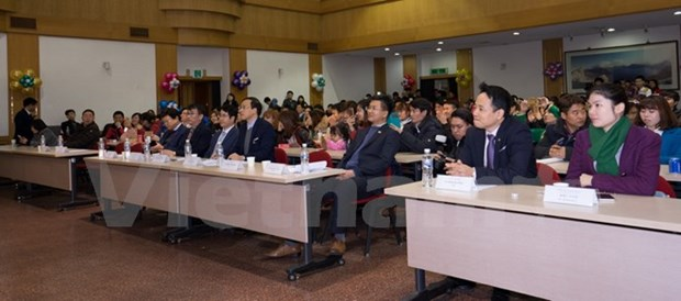 Vietnamese workers in RoK get together hinh anh 1