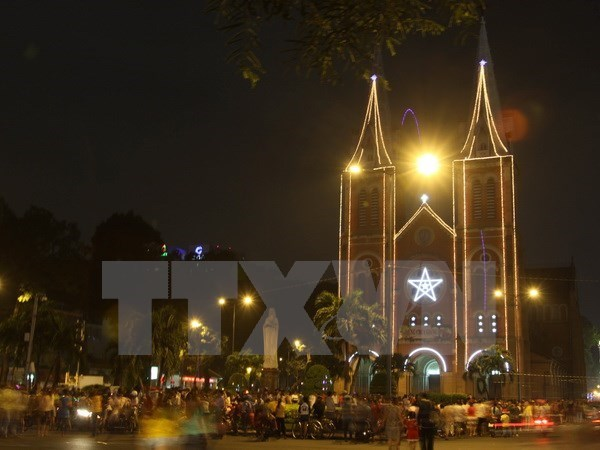 Deputy PM extends Xmas greetings to Catholics, Protestants in HCM City hinh anh 1